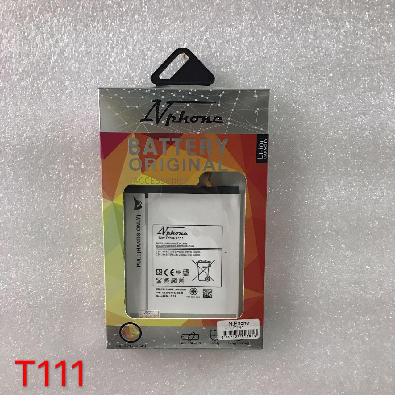 แบตเตอร์รี่ งานบริษัท ( มี มอก ไส้เต็ม ) Samsung T111// Galaxy Tab 3 Lite 7.0