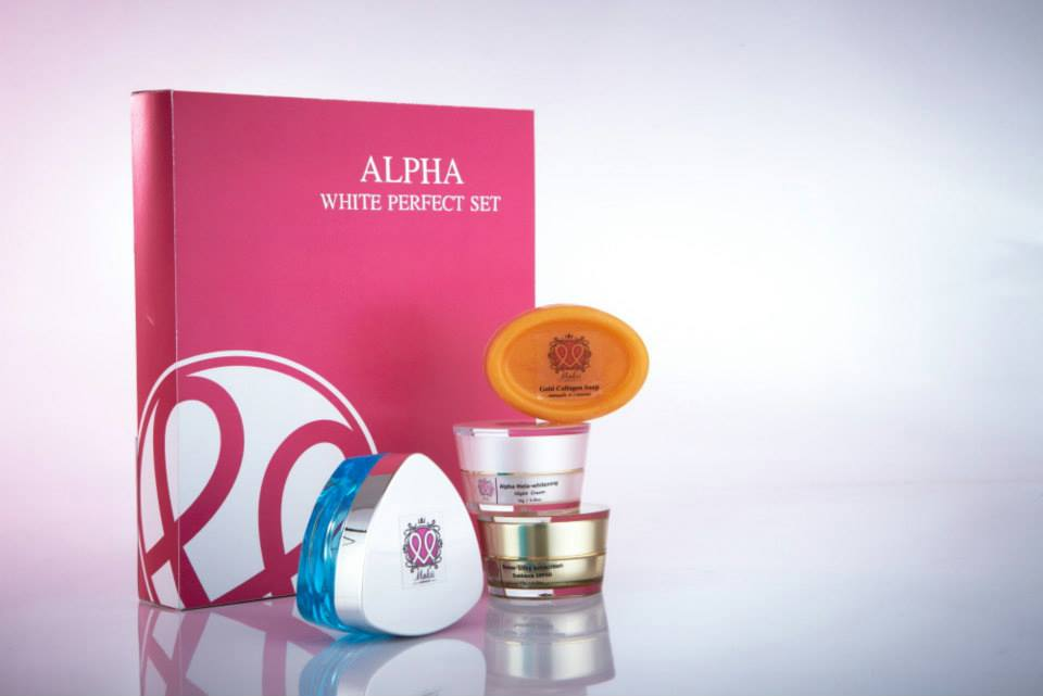 Makii Miracle ครีมมาร์กี้มิราเคิล ชุดอัลฟ่าไวท์ Alpha White Perfect Set สำหรับผิวแห้ง ลดเลือนริ้วรอย แก้ฝ้ากระ ขนาด 10 กรัม