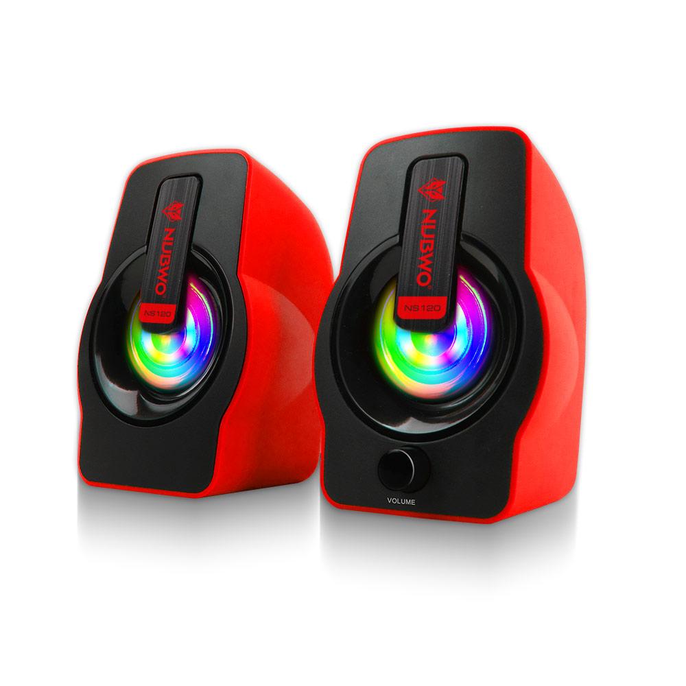 ลำโพง 2.0 nubwo(falsetto) ns120r red