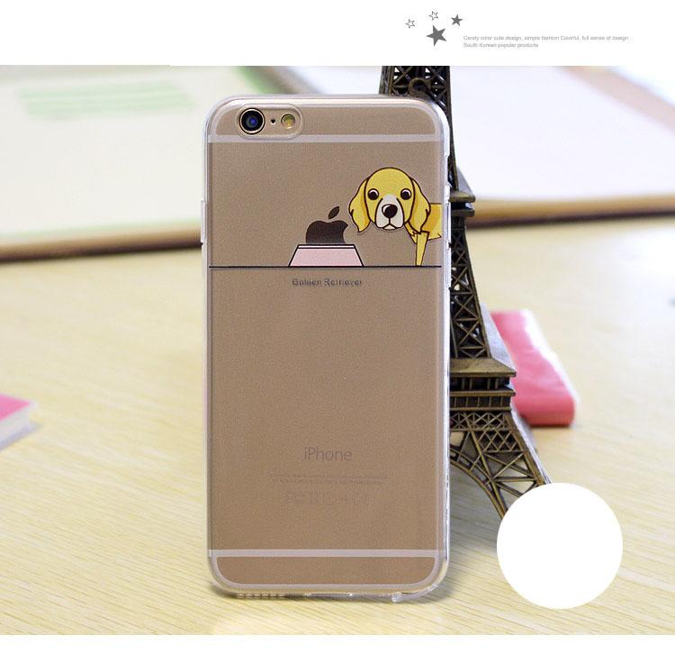 เคสลายสุนัข (เคสยาง) - iPhone5