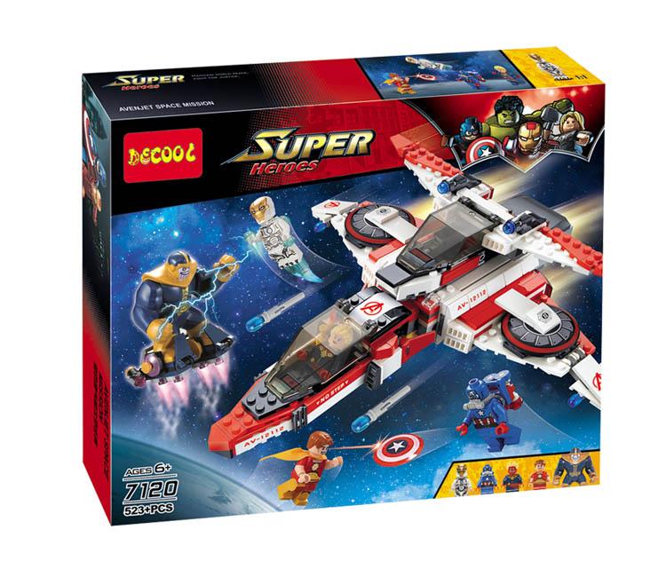 7120 ทีม Space Avengers กับภารกิจต่อสู้กับทานอสในอวกาศ