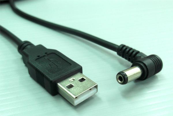 สาย USB TO DC JACK 5.5 ใช้กับบเครื่อง SAMART STRONG รุ่น UD120