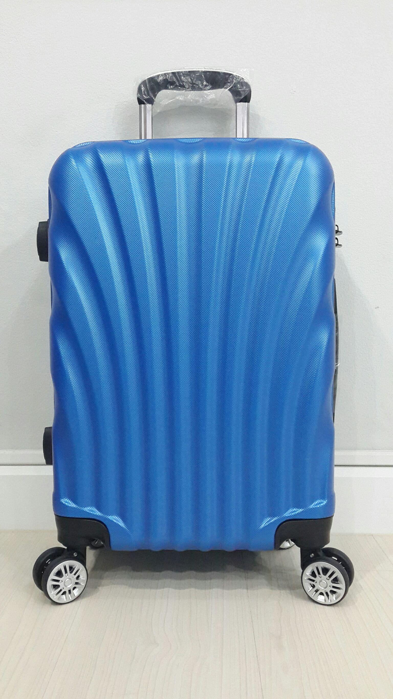 """กระเป๋าล้อลาก - Trolley Bag 20"""" Model : Shell สีน้ำเงิน"""