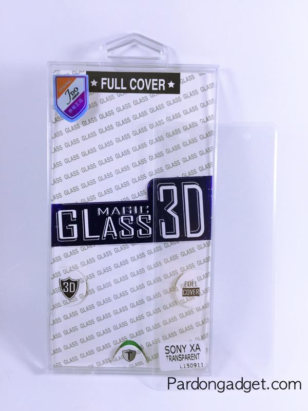 ฟิล์มกระจก Sony XA เต็มจอสีใส