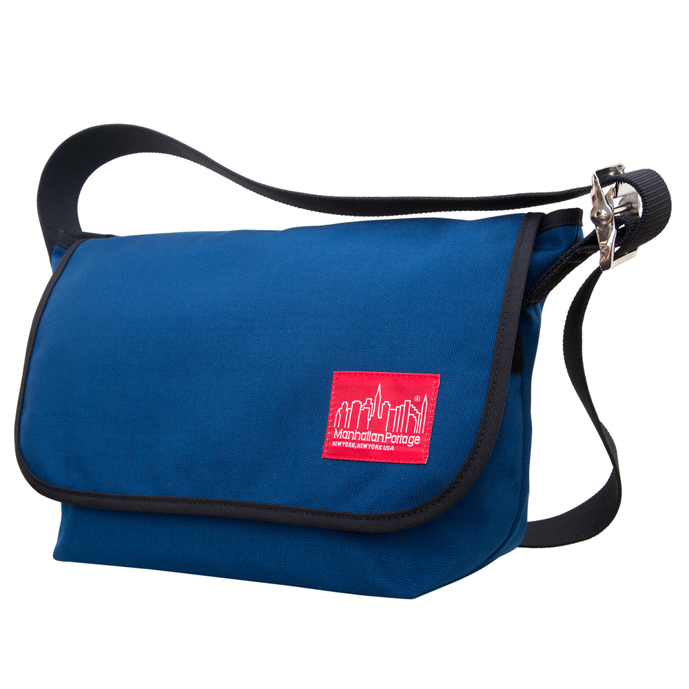 Manhattan Portage Vintage Messenger Bag JR – Navy Size MD