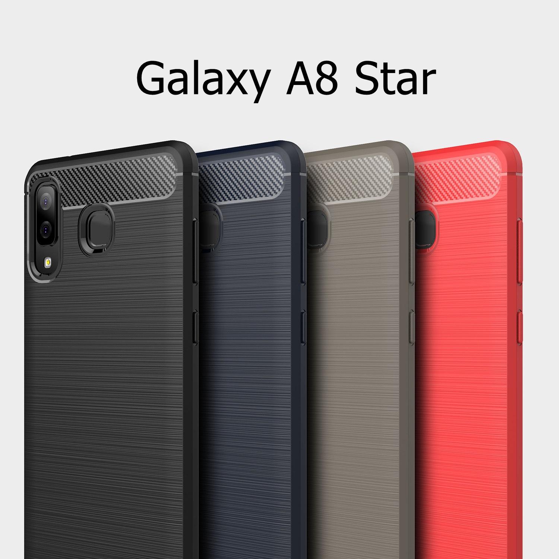 เคส Samsung Galaxy A8 Star แบบ TPU กันกระแทก