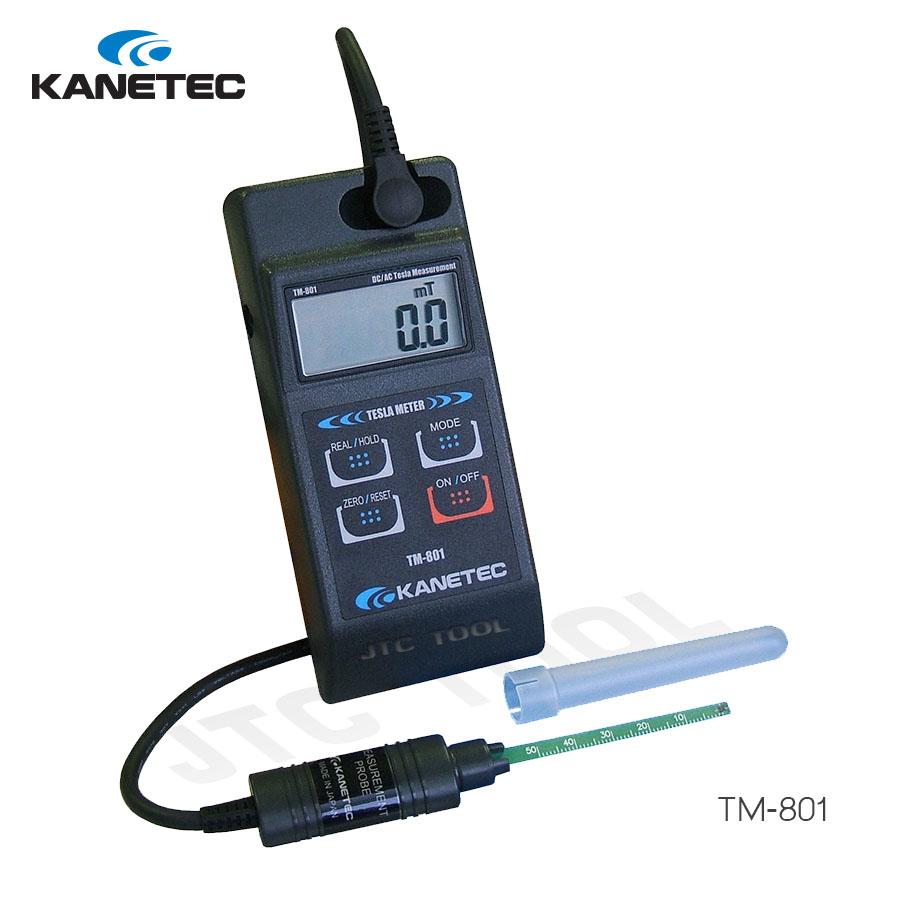 เครื่องวัดแรงแม่เหล็ก - TESLA METER (TM-801) Kanetec