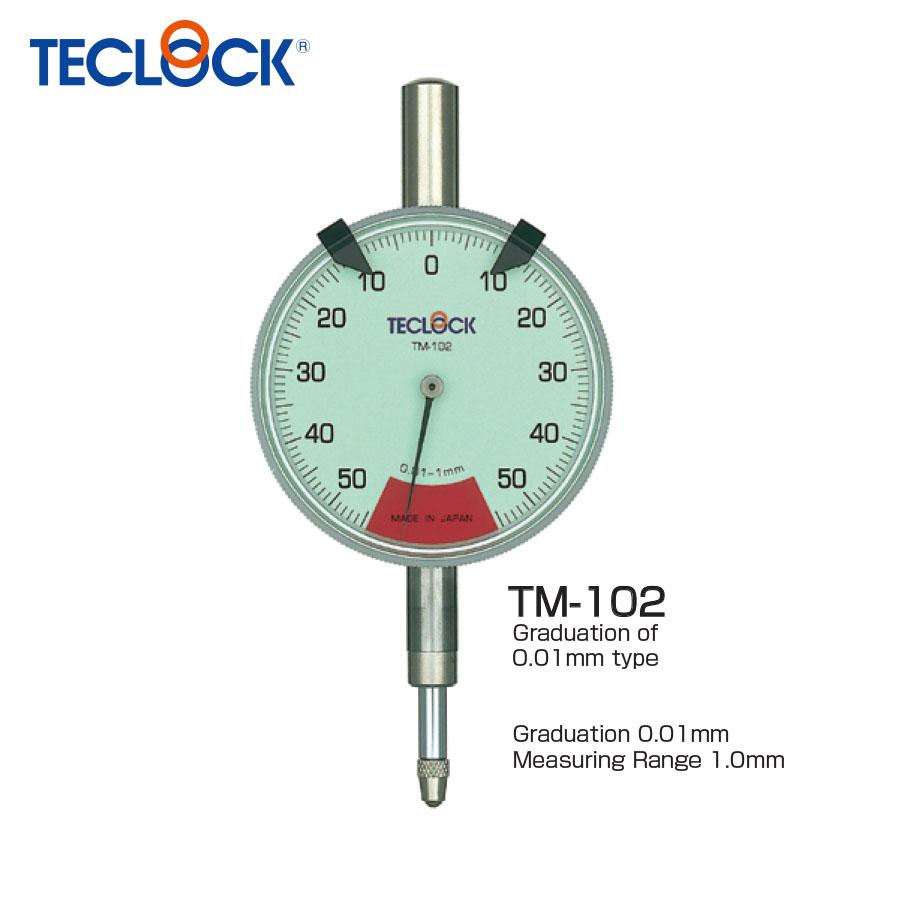 ไดอัลเกจวัดความเรียบ / One Revolution Dial Indicator (TM-102) Teclock