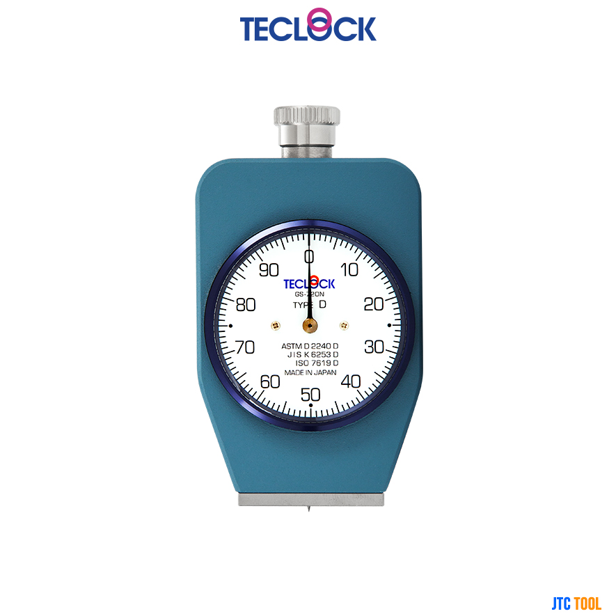 เกจวัดความแข็งยาง - Durometer (GS-720N) TECLOCK