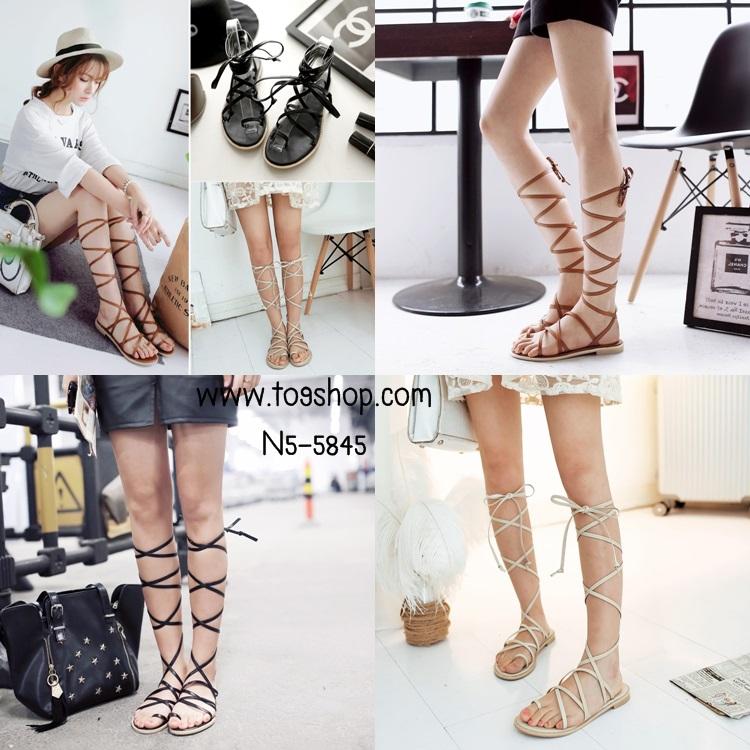 Preorder รองเท้าแฟชั่น สไตล์เกาหลี 33-43 รหัส N5-5845