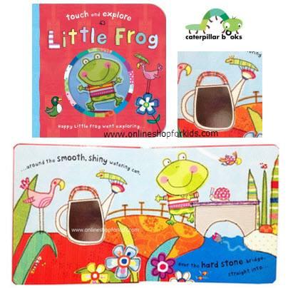หนังสือสัมผัส Little Frog Touch and Feel Board Books