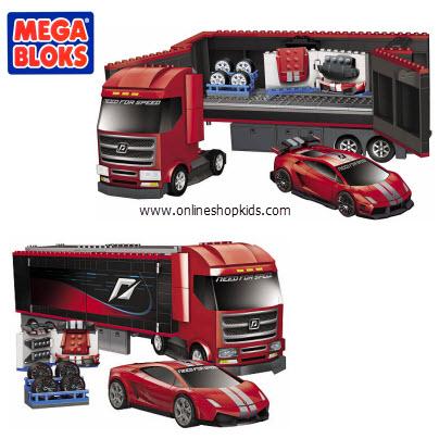 ตัวต่อเมก้าบล็อก Mega Bloks Need for Speed Custom Rig (95760)