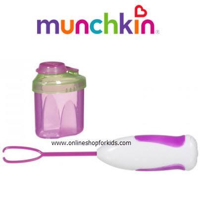 (มือสอง) ที่ตีนมผงไม่ให้จับเป็นก้อน Munchkin Formula Mixer, Pink