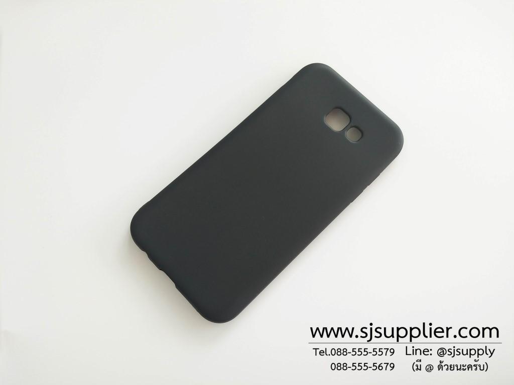 เคส Samsung A7 (2017) นิ่ม สีดำ
