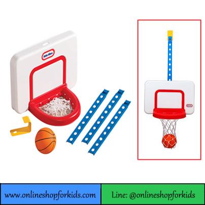 แป้นบาสเกตลอล แบบแขวน Little Tikes Attach 'n Play Basketball Set