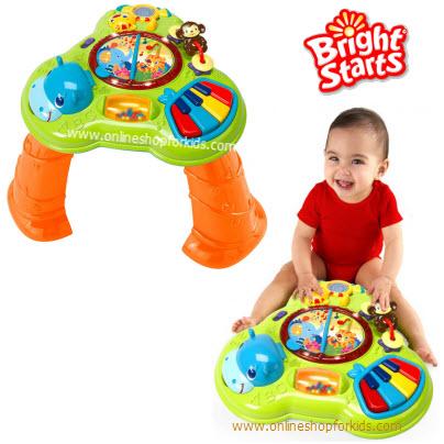 โต๊ะกิจกรรม Bright Starts Safari Sounds Musical Learning Table