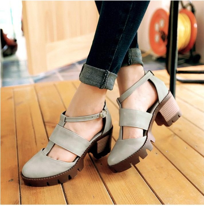 Preorder รองเท้าแฟชั่น สไตล์เกาหลี 33-43 รหัส 55-4758
