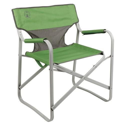 Coleman Steel Deck Chair #Green