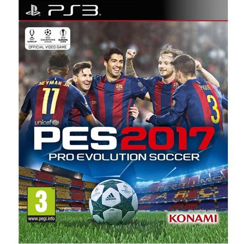 PS3: PES - Pro Evolution Soccer 2017 (Z2) [ส่งฟรี EMS]