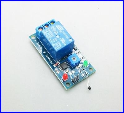 รีเลย์ควบคุมอุณหภูมิ 5V Thermal Sensor Module Relay Module Combo Module
