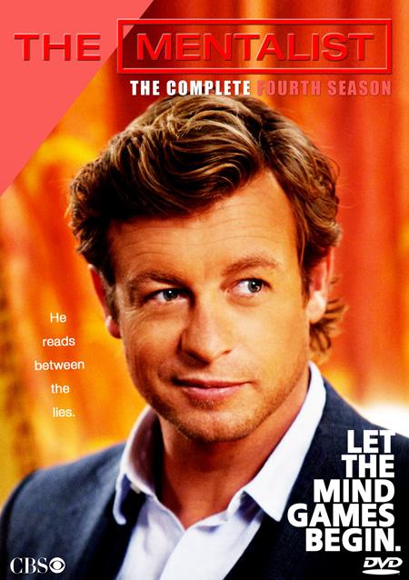 The Mentalist Season 4 / เดอะ เมนทัลลิสท์ เจาะจิตผ่าปริศนา ปี 4 / 5 แผ่น DVD (บรรยายไทย)