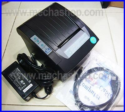 เครื่องพิมพ์ใบเสร็จอย่างย่อ เครื่องพิมพ์สลิป (ตัดกระดาษอัตโนมัติ) 58mm Thermal Receipt Printer with Auto cut
