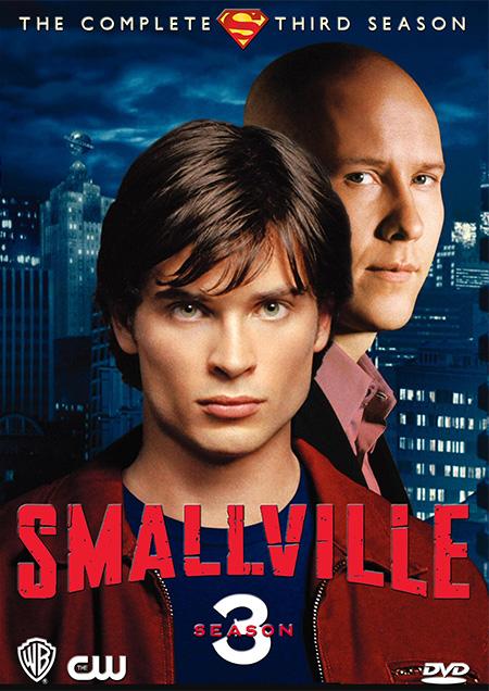 Smallville Season 3 / สมอลวิลล์ ผจญภัยหนุ่มน้อยซูเปอร์แมน ปี 3 / 11 แผ่น DVD (พากษ์ไทย+บรรยายไทย)