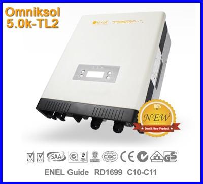 อินเวอร์เตอร์ โซล่าเซลล์ Solar Inverter Omniksol-5.0k-TL2 PV-Generate Power 5200W เทคโนโลยีจากประเทศเยอรมนี ผ่านการตรวจสอบจาก กฟภ(สินค้า Pre-Order)