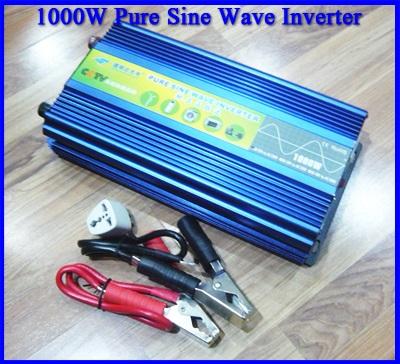 โซล่า อินเวอร์เตอร์ โซล่าเซลล์ อินเวอร์เตอร์ขนาด1000Watt DMD Pure Sine Wave off grid Solar Inverter เครื่องแปลงไฟ 12VDC เป็นไฟฟ้าบ้าน 220VAC/50Hz