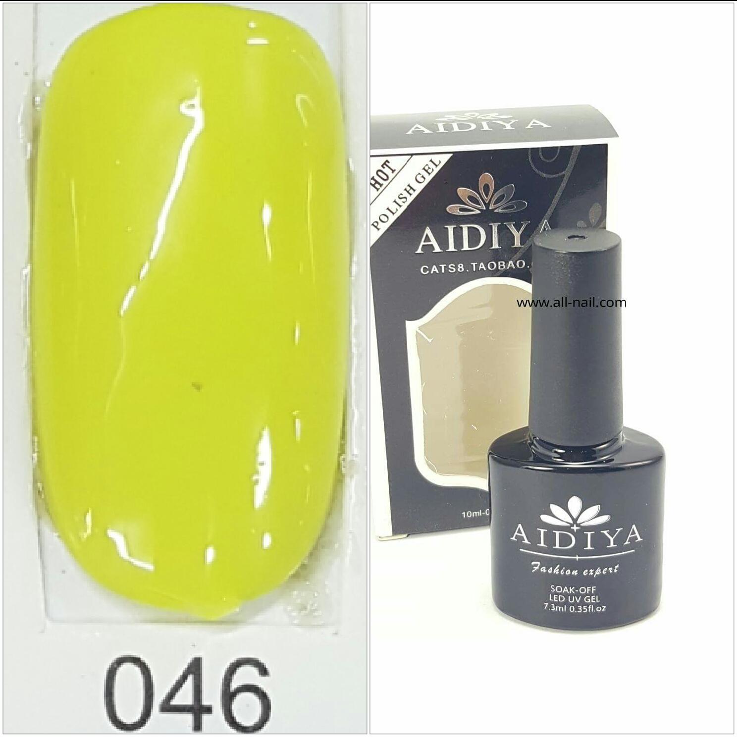สีเจลทาเล็บ AIDIYA #046