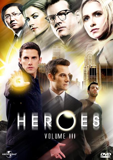 Heroes Season 3 / ฮีโร่ ปี 3 / 6 แผ่น DVD (พากษ์ไทย+บรรยายไทย)
