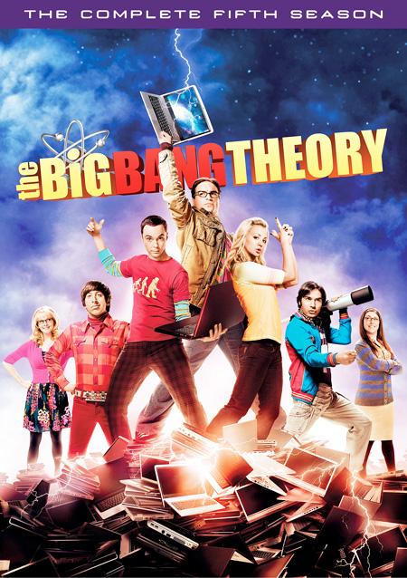 The Big Bang Theory Season 5 / ทฤษฎีวุ่นหัวใจ ปี 5 / 3 แผ่น DVD (บรรยายไทย)