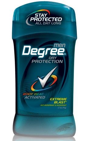 ผลิตภัณฑ์ระงับกลิ่นกายสำหรับคุณผู้ชาย degreemen ขนาด 2.7 oz.(76 g.) กลิ่น extreme blast