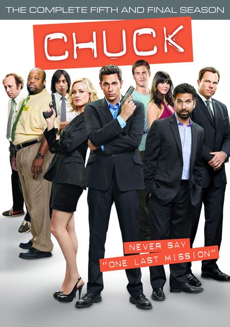 Chuck Season 5 / ชัค สายลับสมองล้น ปี 5 / 3 แผ่น DVD (บรรยายไทย)
