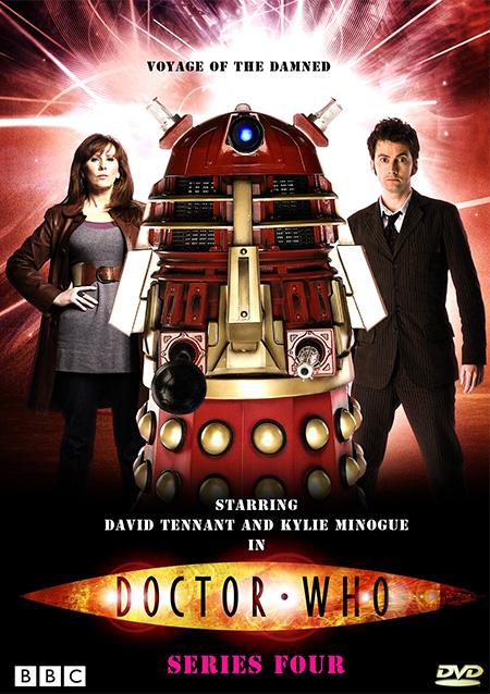 Doctor Who Season 4 / ด๊อกเตอร์ฮู กู้วิกฤตจักรวาล ปี 4 / 4 แผ่น DVD (พากษ์ไทย+บรรยายไทย)