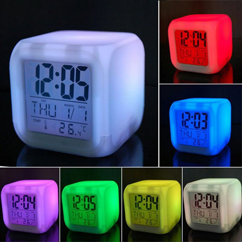 นาฬิกา มีแสง LED