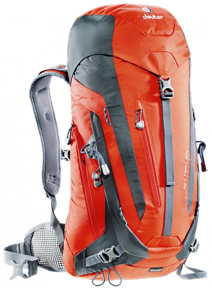 Deuter Act Trail 24 papaya-granite (orange-grey)