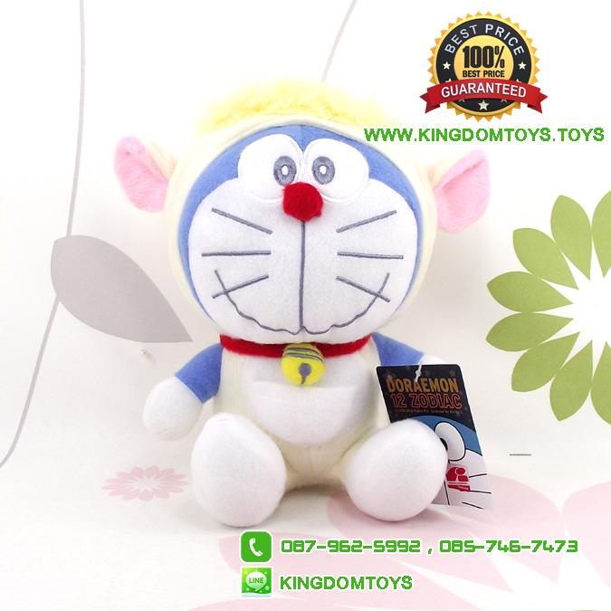 ตุ๊กตาโดเรม่อน 12 นักษัตร ท่านั่งปีแพะ 7 นิ้ว [Fujiko Pro]