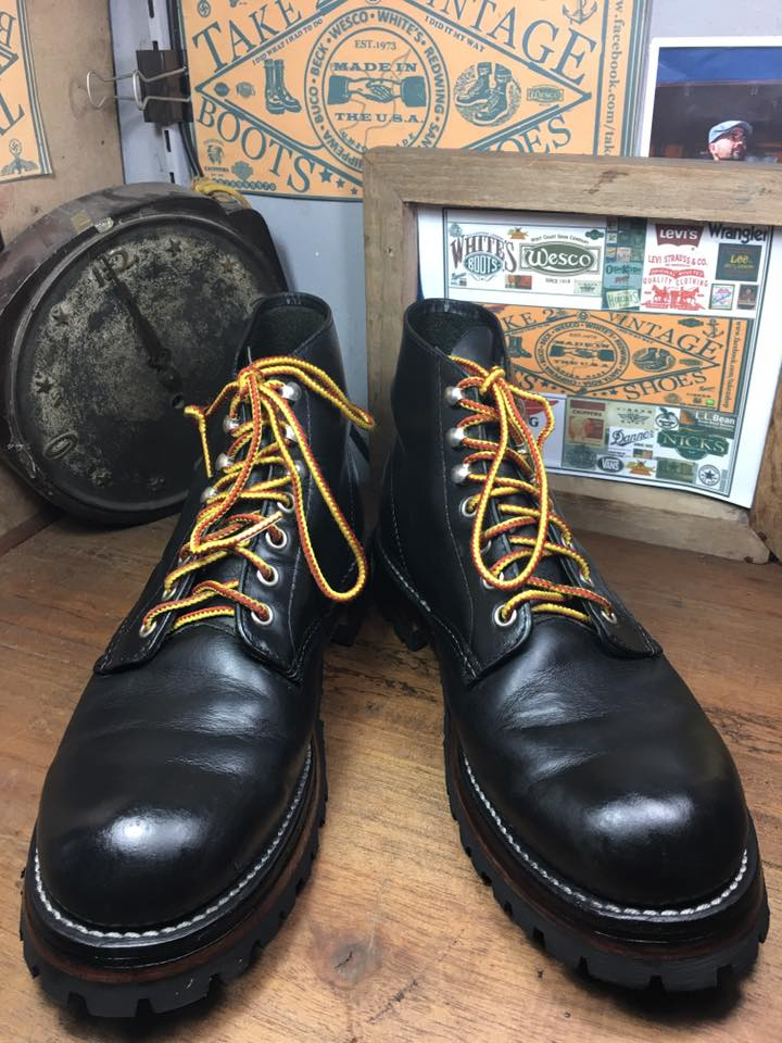44. RED WING 8165 พื้น custom sole made in USA size 8.5E