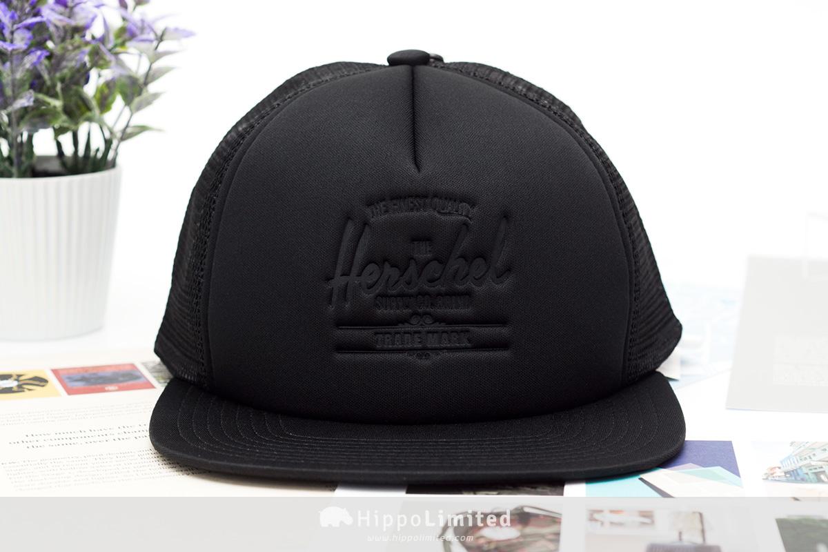 Herschel Whaler Cap | Mesh - Black Deboss