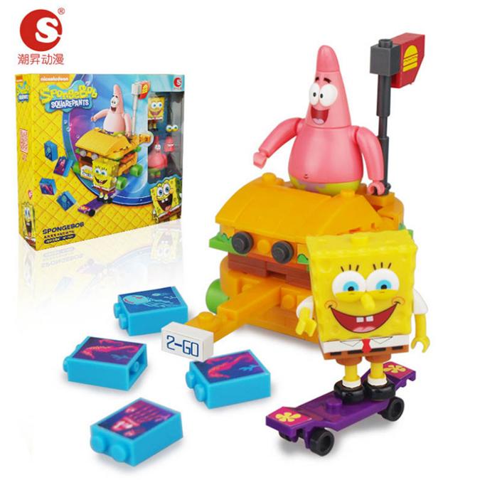 เลโก้ สปอนจ์บ๊อบ+แพททริค [Nickelodeon]