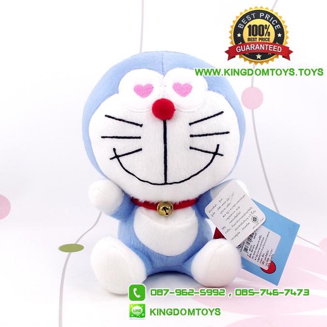 ตุ๊กตา โดเรม่อน ตาหัวใจสีฟ้า Doraemon 7 นิ้ว [Fujiko Pro]