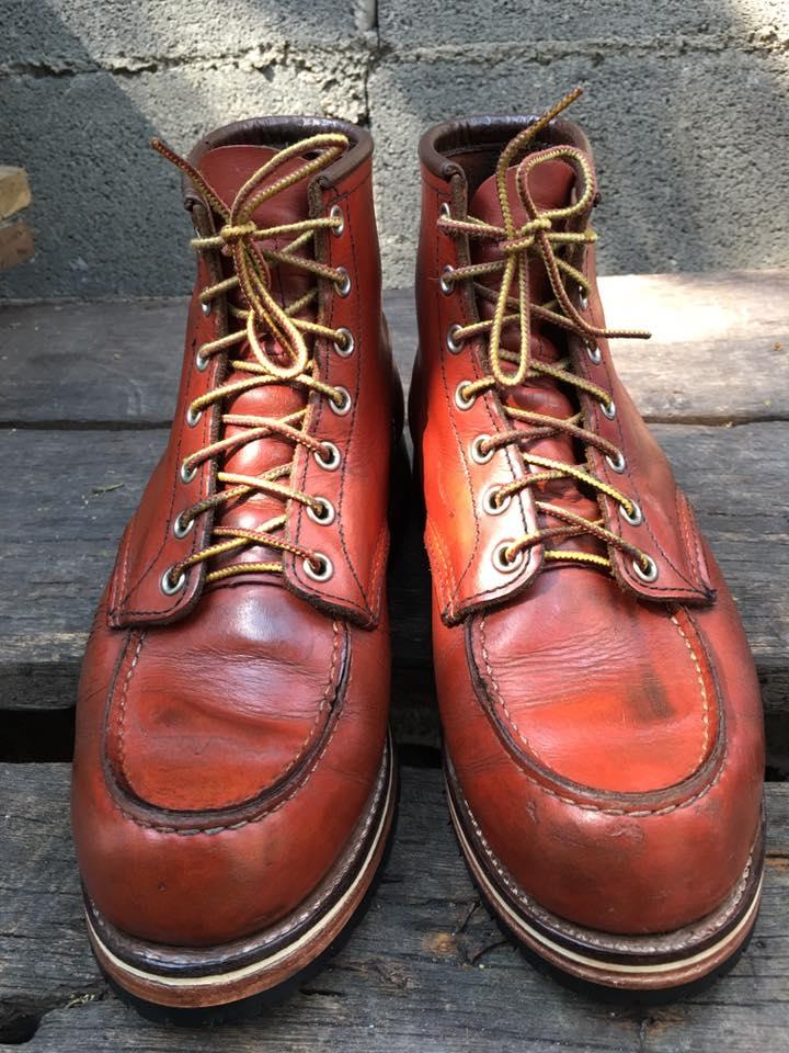 49. Red wing 8131 size 8E-26cm custom sole พื้นหนังประกบ ราคา 4190