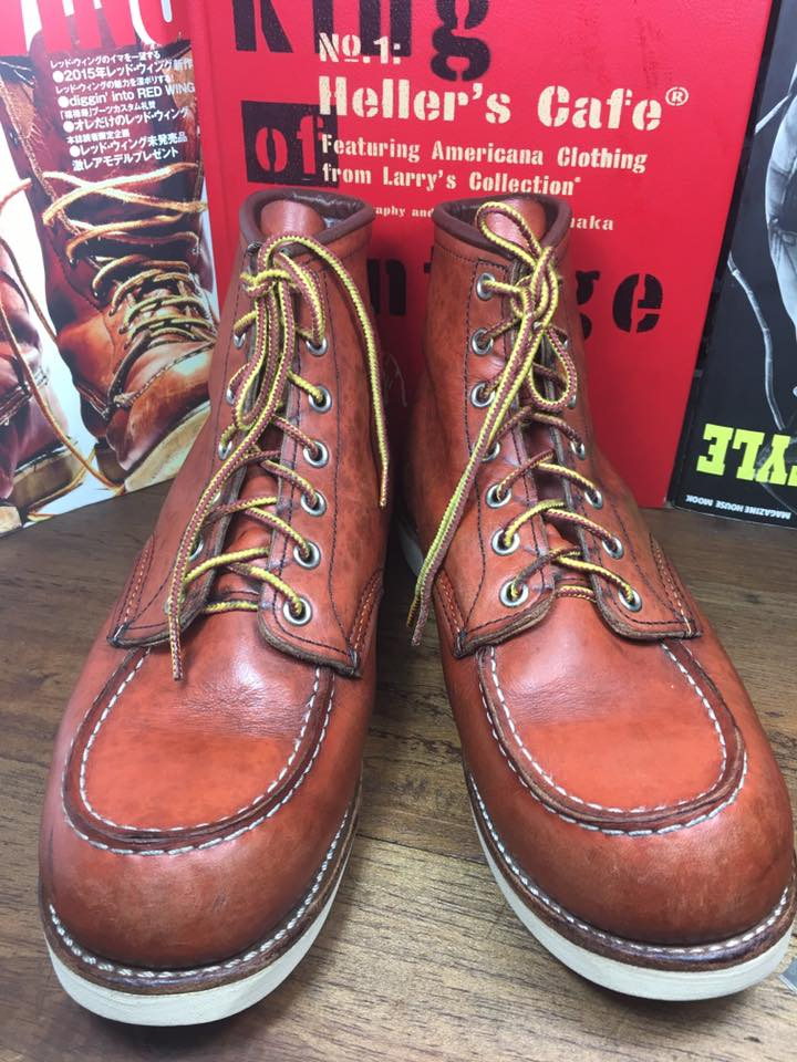 RED WING 8131size 8.E