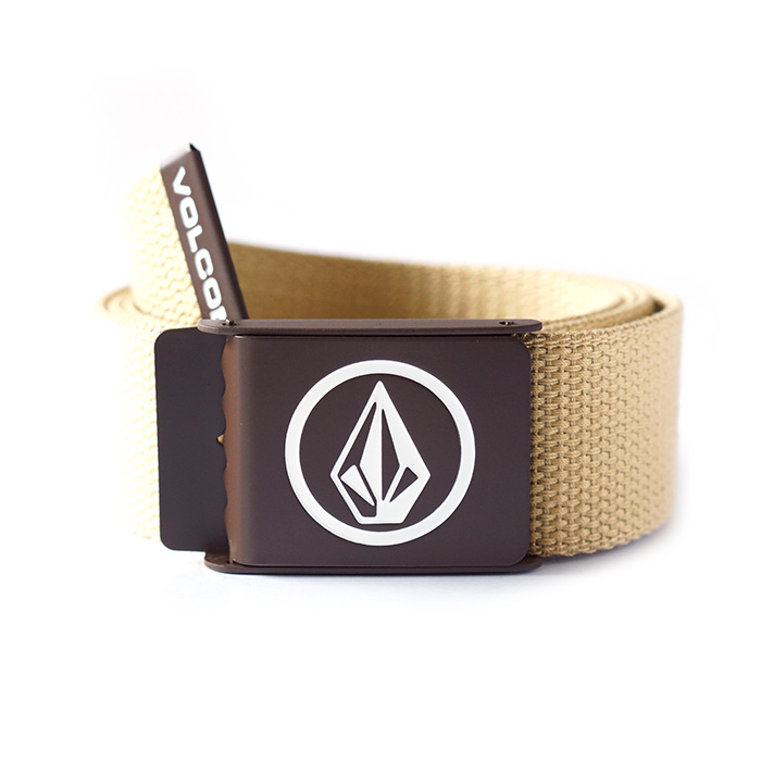 Volcom Circle Web Belt - Khaki