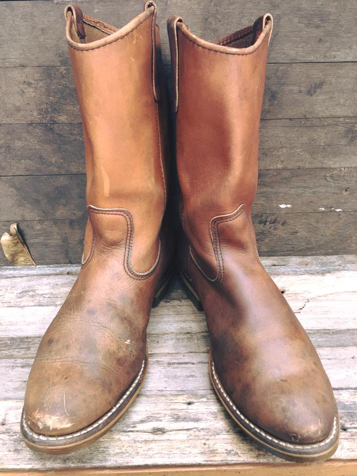 Red wing 1155 boots size 10