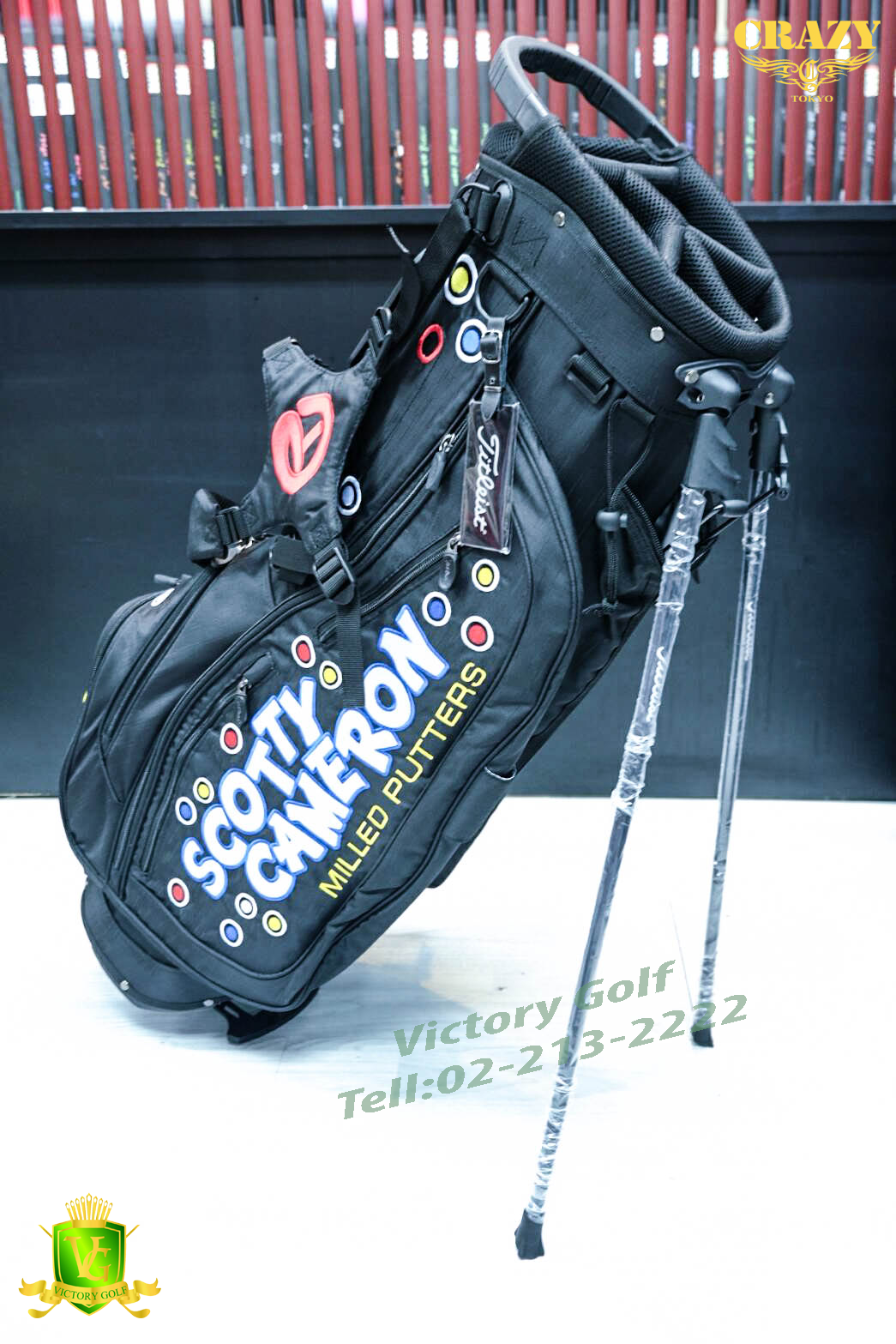 Scotty Cameron GOLF BAG (Black)