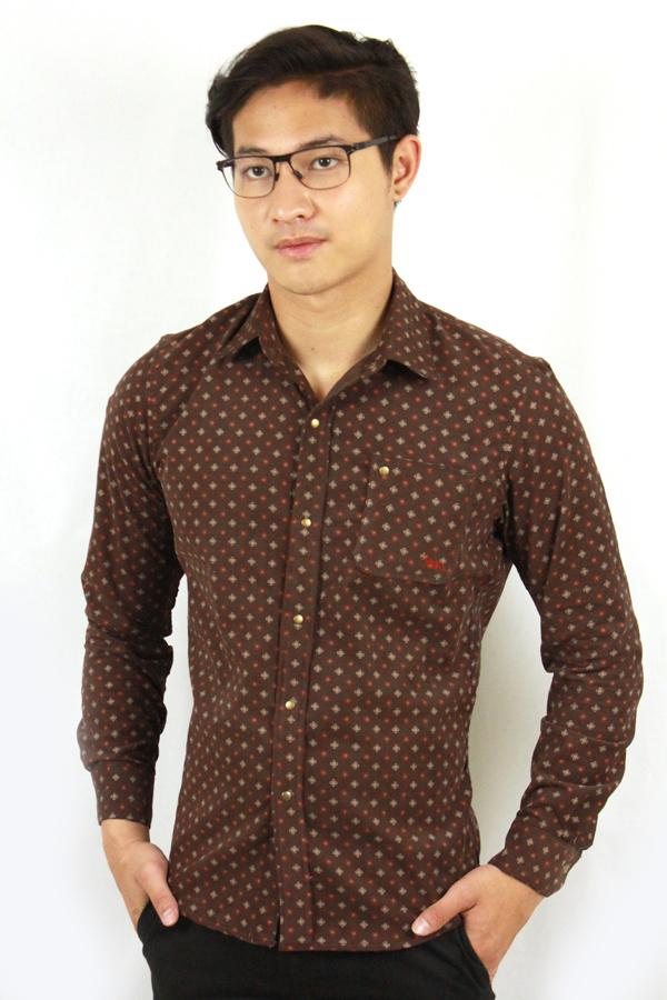 เสื้อเชิ้ตแขนยาว ชาย NANAPA Shirts NA-007