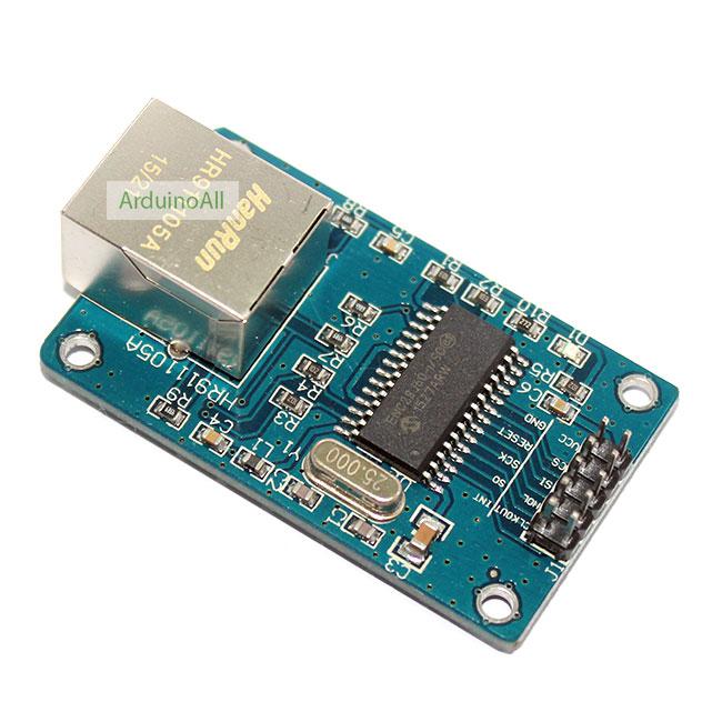 ENC28J60 SPI Interface Ethernet Network Module