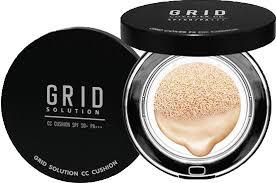 Grid Solution CC Cushion SPF 50+ PA+++ กริด โซลูชั่น ซีซี คุชชั่น : 1 ชิ้น